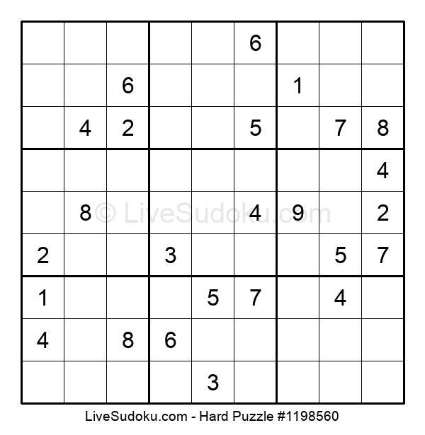 Hard Puzzle #1198560