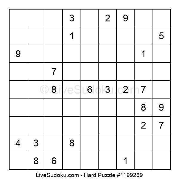 Hard Puzzle #1199269
