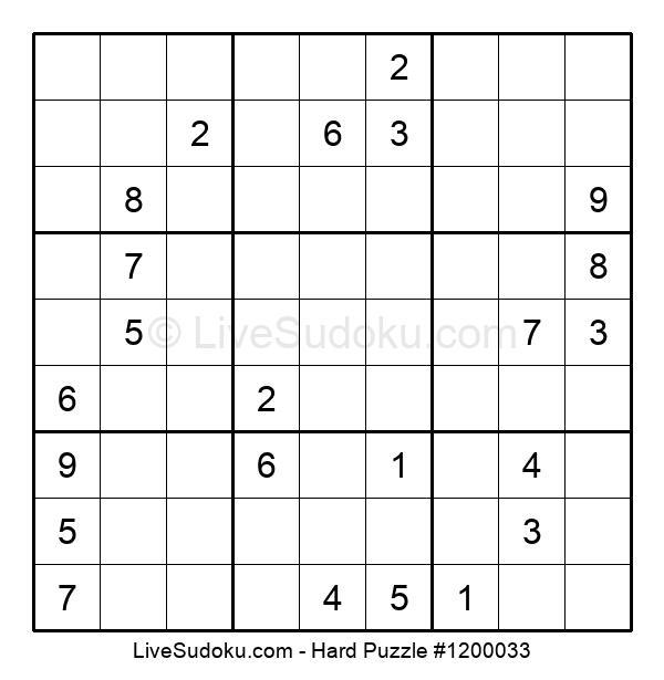 Hard Puzzle #1200033