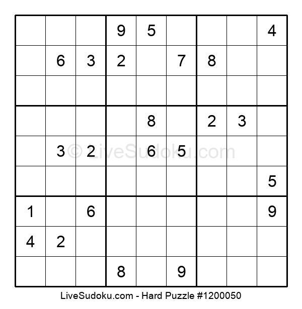 Hard Puzzle #1200050