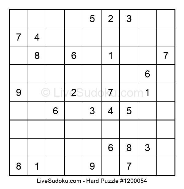 Hard Puzzle #1200054