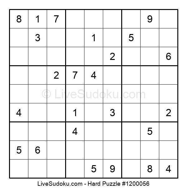 Hard Puzzle #1200056
