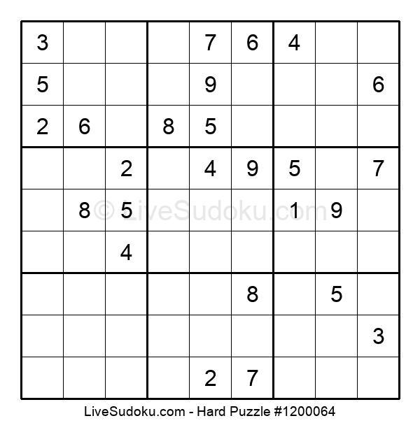 Hard Puzzle #1200064