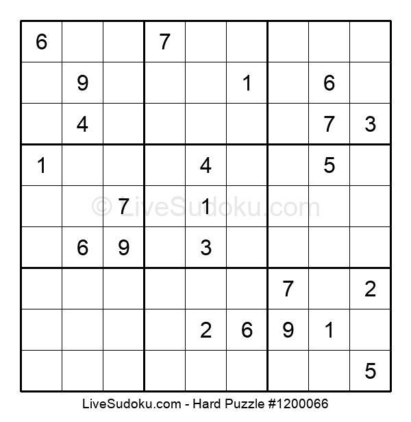 Hard Puzzle #1200066