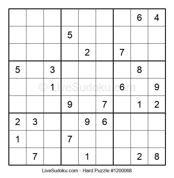 Hard Puzzle #1200068