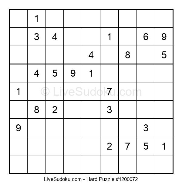 Hard Puzzle #1200072