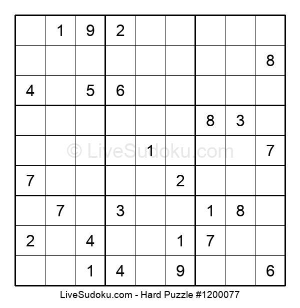 Hard Puzzle #1200077
