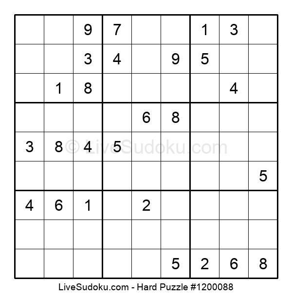 Hard Puzzle #1200088