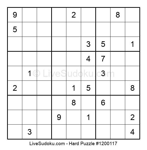 Hard Puzzle #1200117