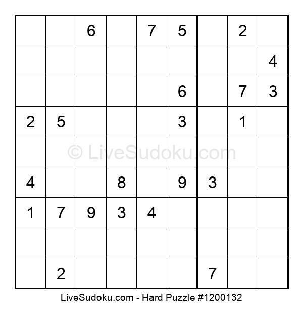 Hard Puzzle #1200132