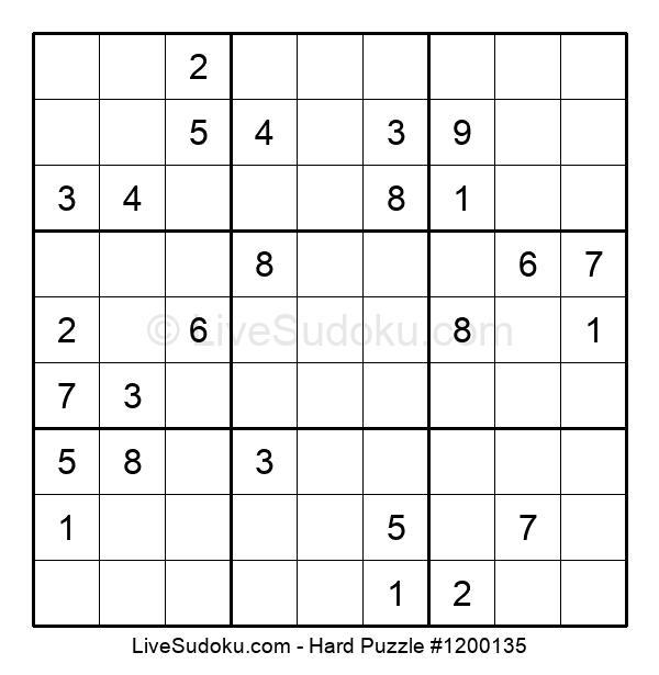 Hard Puzzle #1200135
