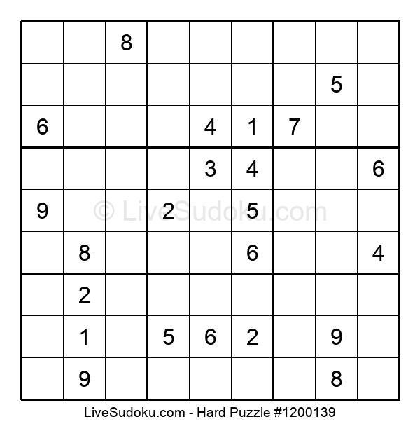Hard Puzzle #1200139