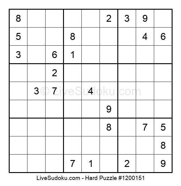 Hard Puzzle #1200151