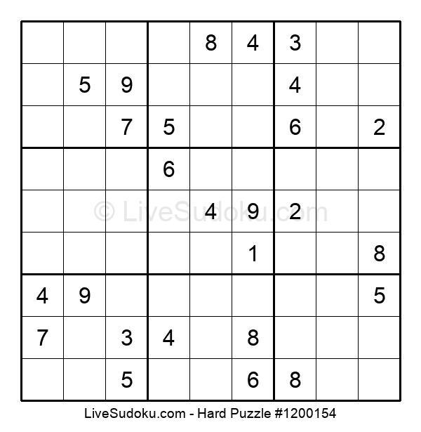 Hard Puzzle #1200154