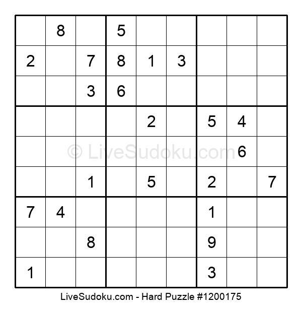 Hard Puzzle #1200175