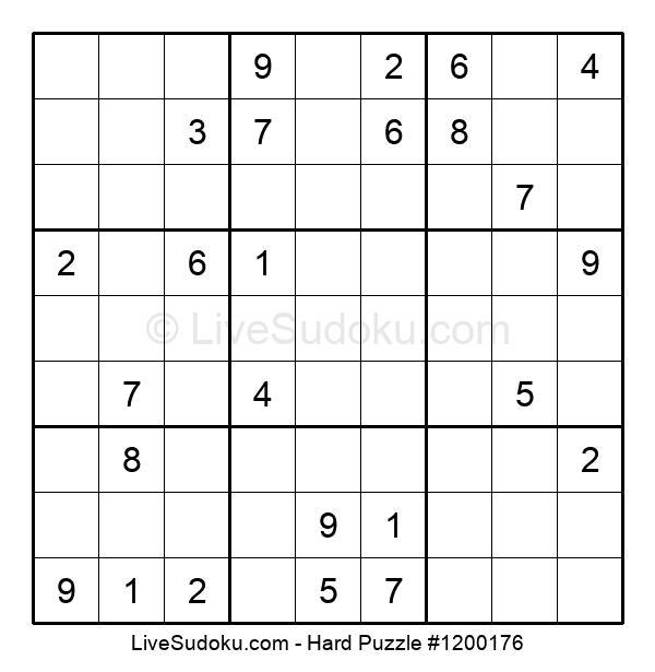Hard Puzzle #1200176