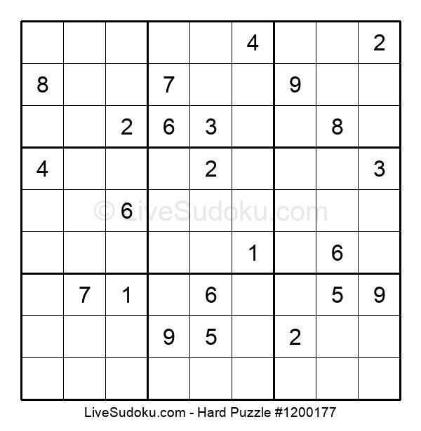 Hard Puzzle #1200177