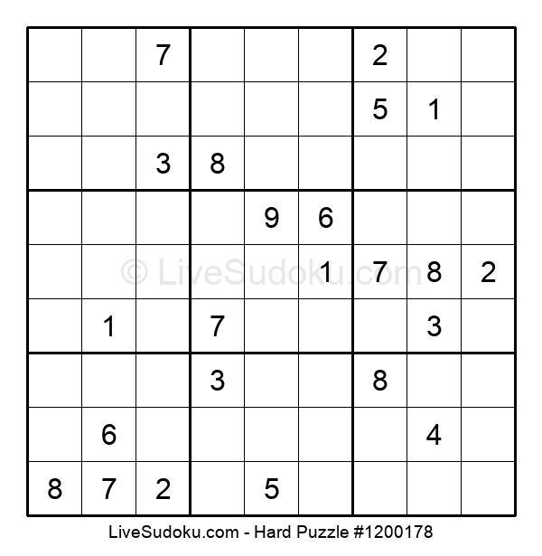 Hard Puzzle #1200178