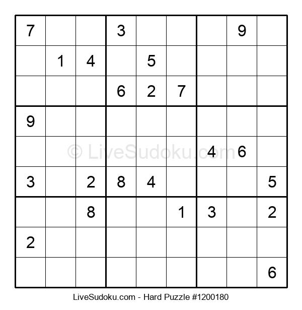 Hard Puzzle #1200180