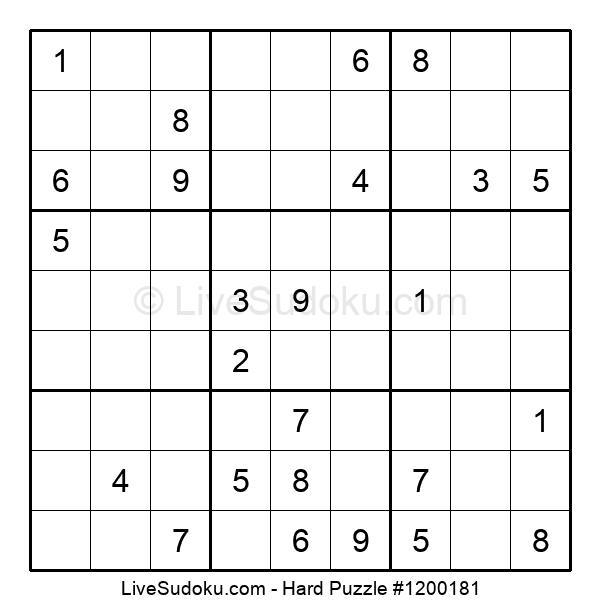 Hard Puzzle #1200181