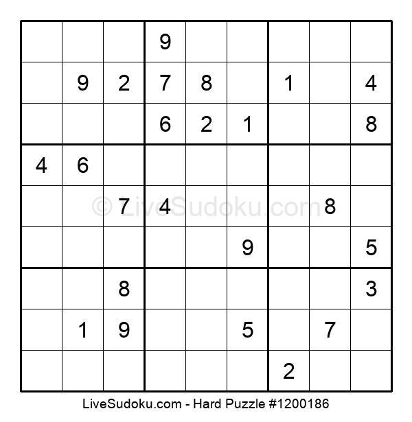 Hard Puzzle #1200186