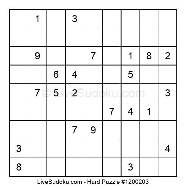 Hard Puzzle #1200203