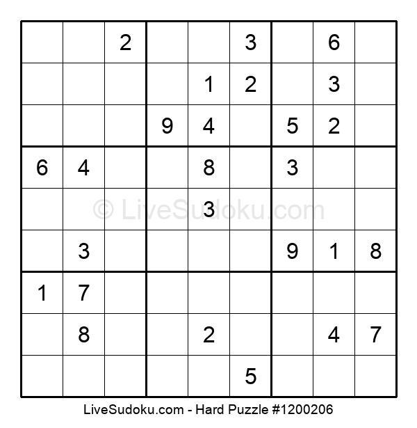 Hard Puzzle #1200206