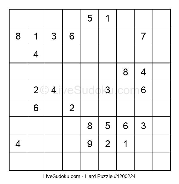 Hard Puzzle #1200224