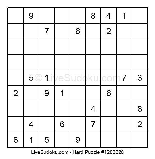 Hard Puzzle #1200228