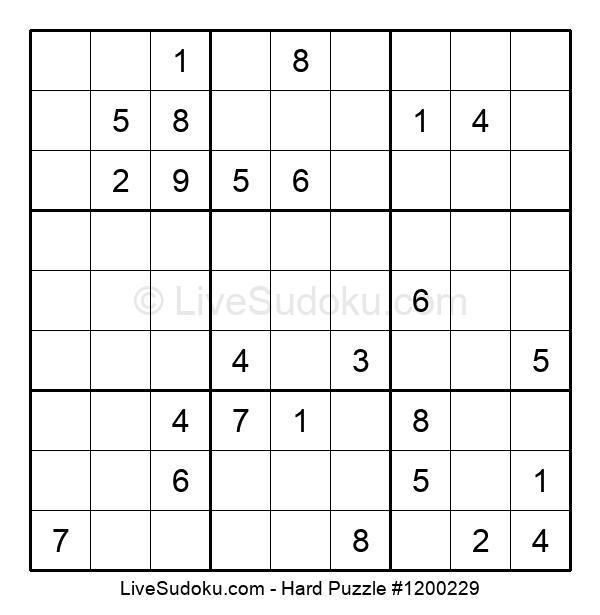 Hard Puzzle #1200229