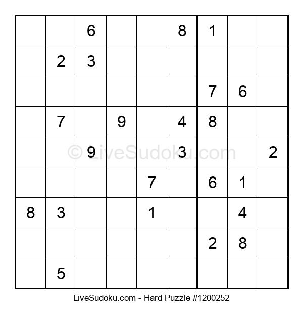 Hard Puzzle #1200252