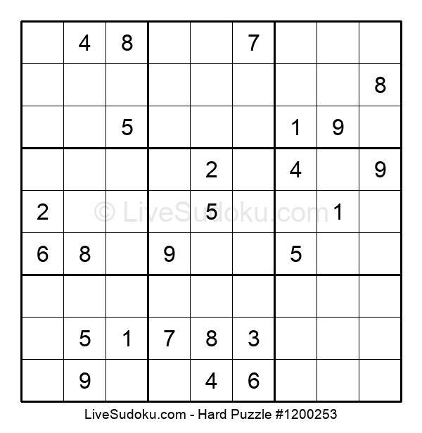 Hard Puzzle #1200253