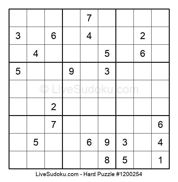 Hard Puzzle #1200254