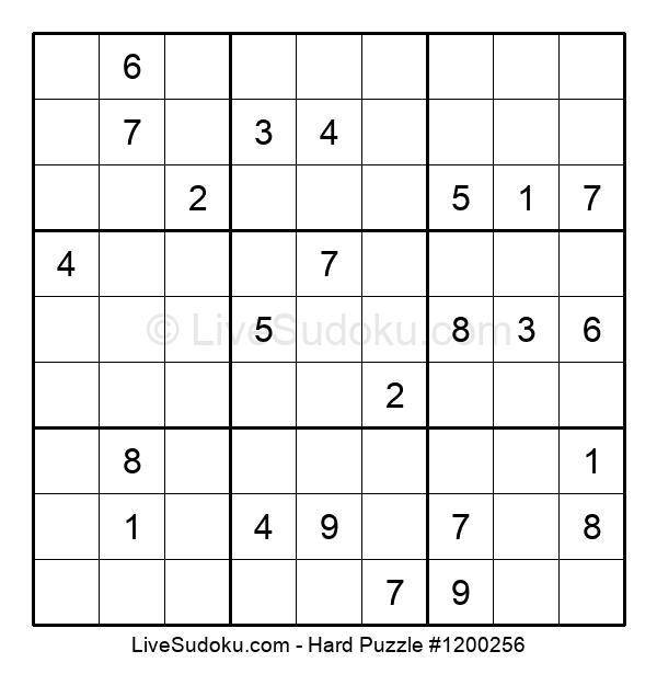 Hard Puzzle #1200256