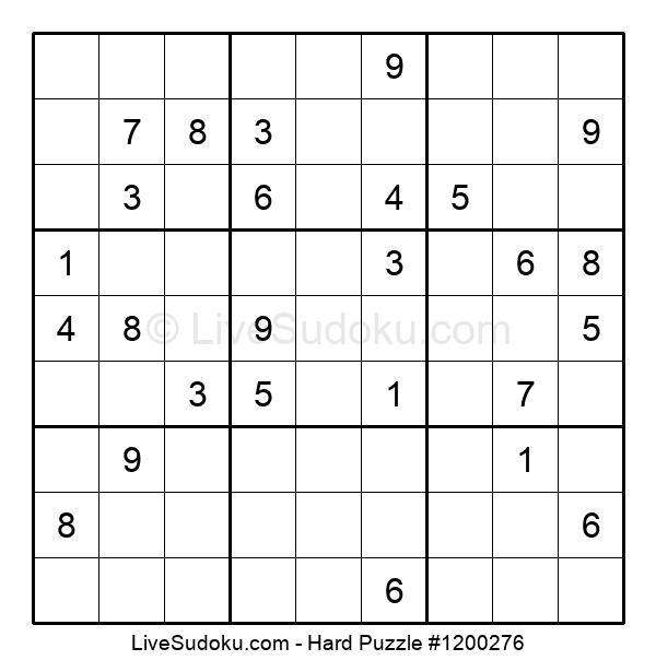 Hard Puzzle #1200276