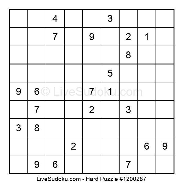 Hard Puzzle #1200287