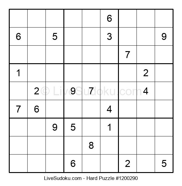Hard Puzzle #1200290