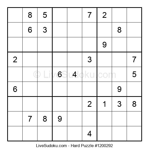 Hard Puzzle #1200292