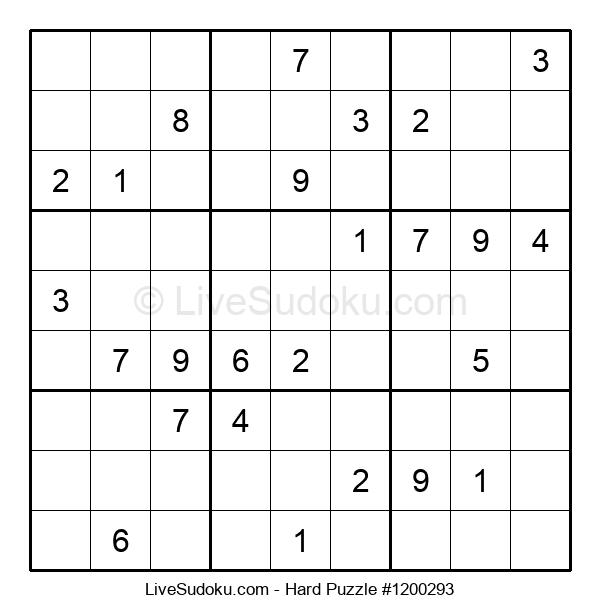 Hard Puzzle #1200293