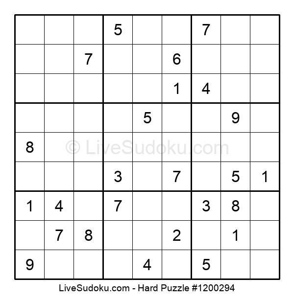 Hard Puzzle #1200294