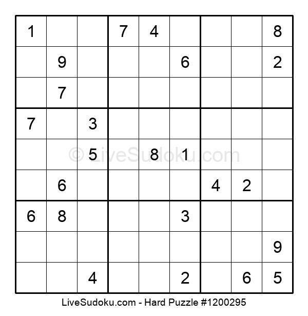 Hard Puzzle #1200295