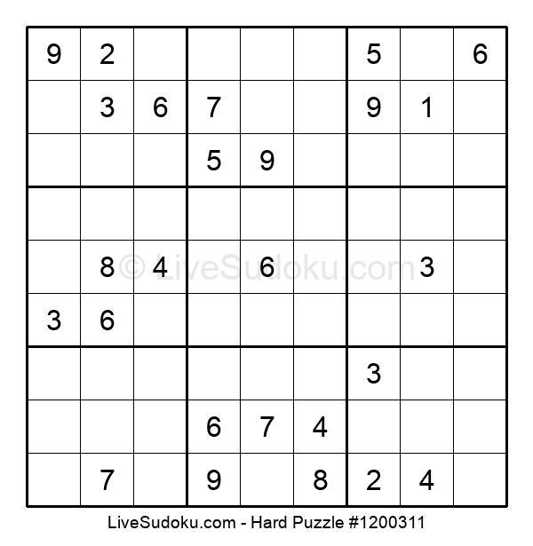 Hard Puzzle #1200311