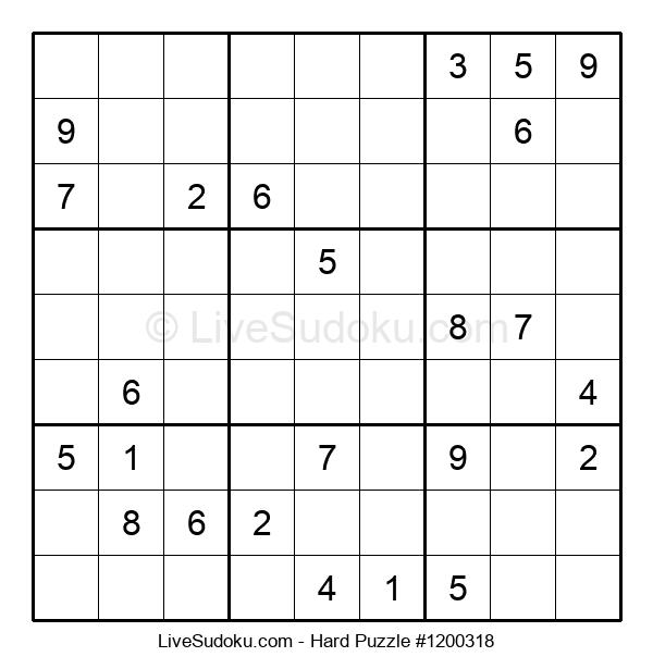 Hard Puzzle #1200318