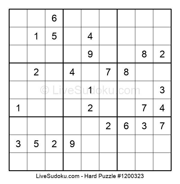 Hard Puzzle #1200323