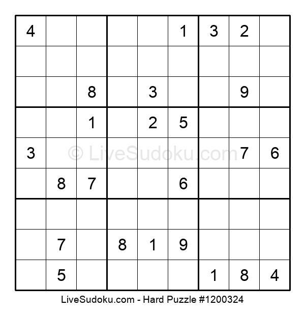 Hard Puzzle #1200324