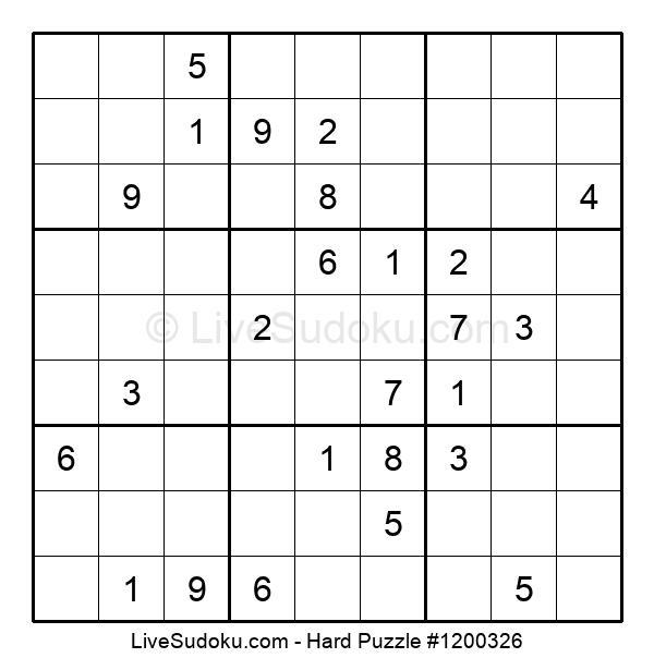 Hard Puzzle #1200326