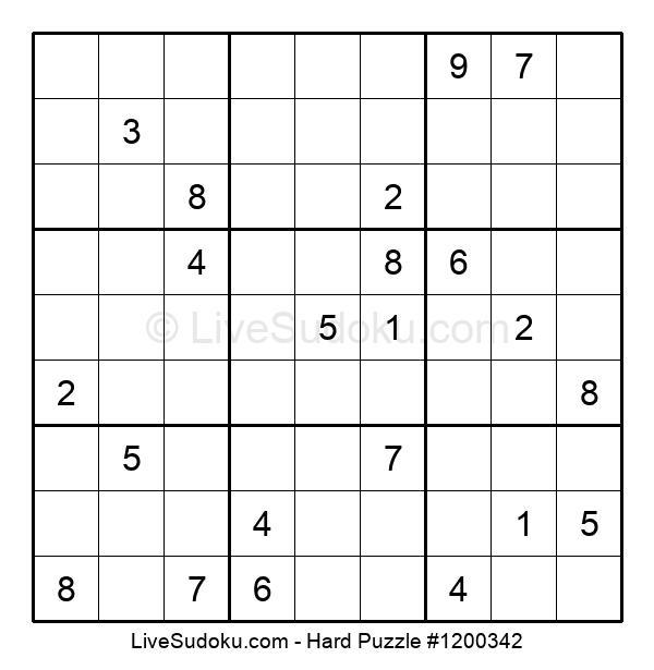 Hard Puzzle #1200342