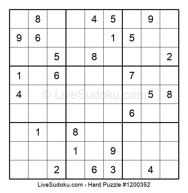 Hard Puzzle #1200352