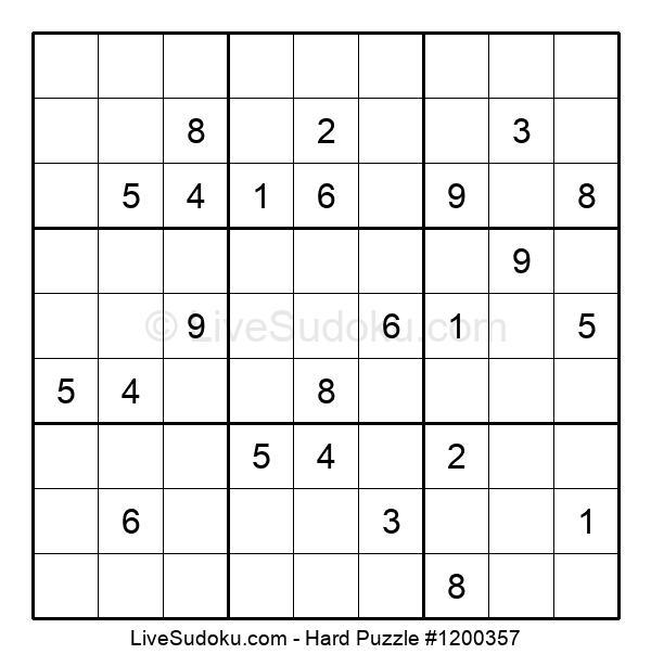 Hard Puzzle #1200357