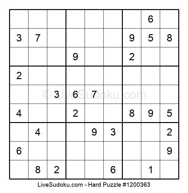 Hard Puzzle #1200363